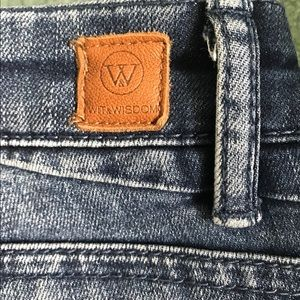 Wit and Wisdom  Size 10 Jean
